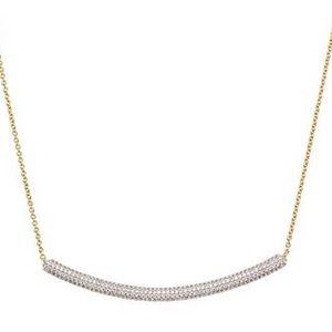New Nadri delicate bar Adjustable necklace